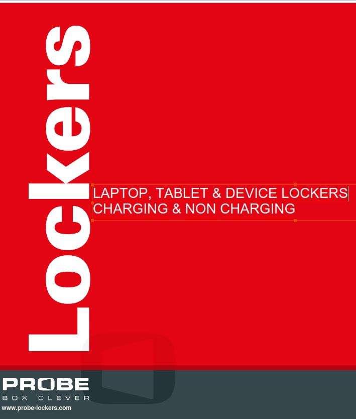 Probe Laptop & Tablet Lockers