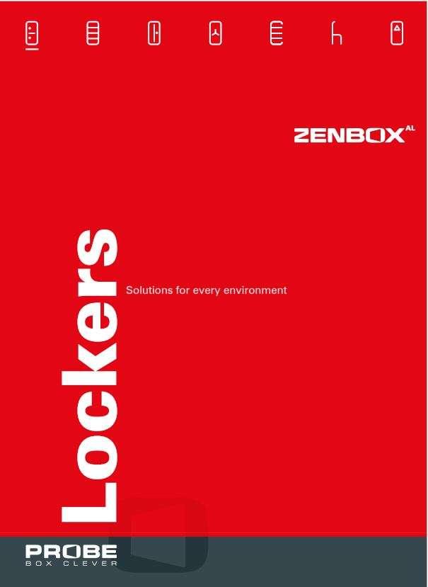 Zenbox - Aluminium Wet Area Locker