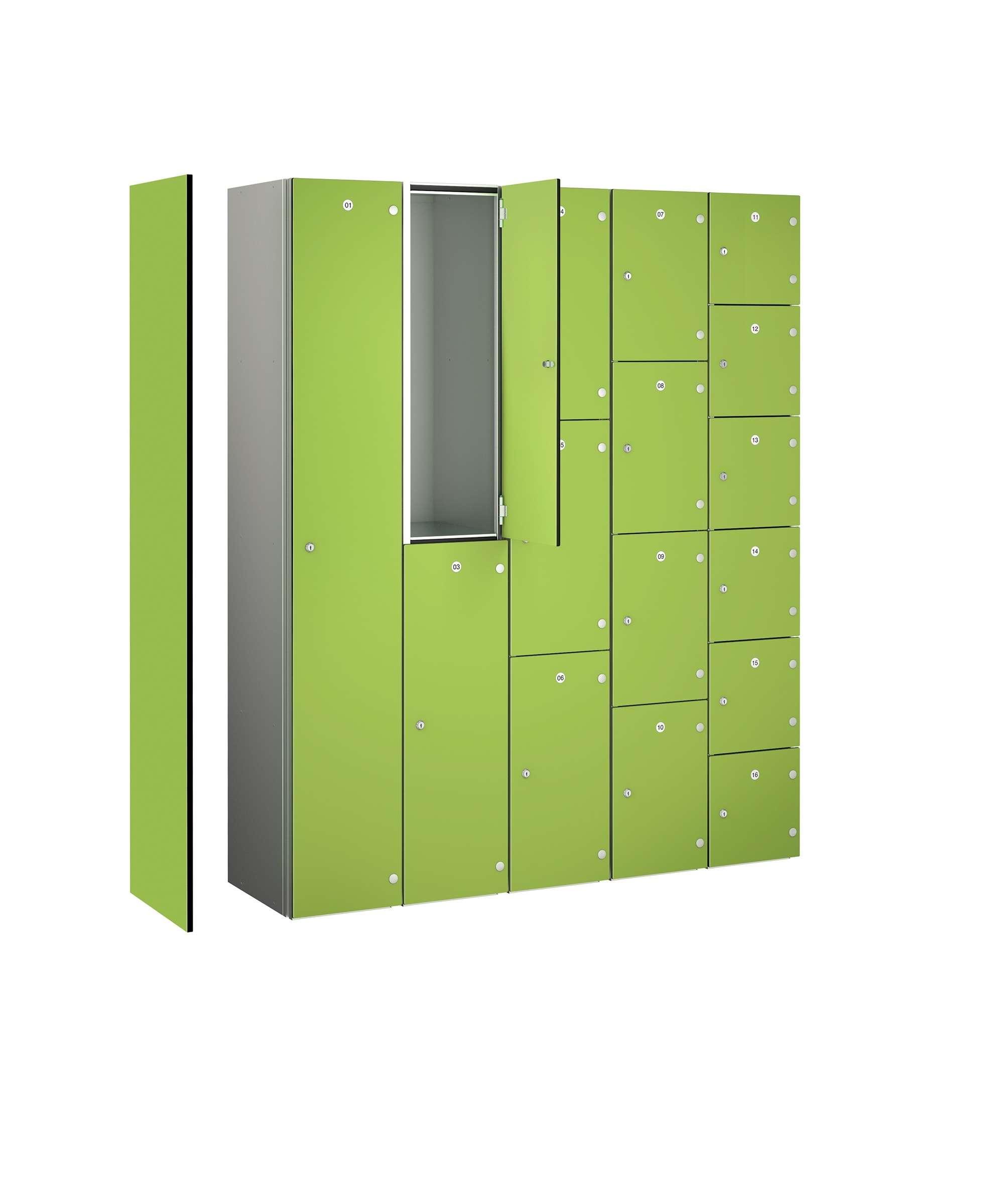 Zenbox - WET AREA Aluminium Locker