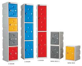 Ultrabox Plastic Lockers